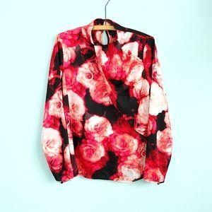 🔥3/$25 | Worthington |asymmetricall blouse